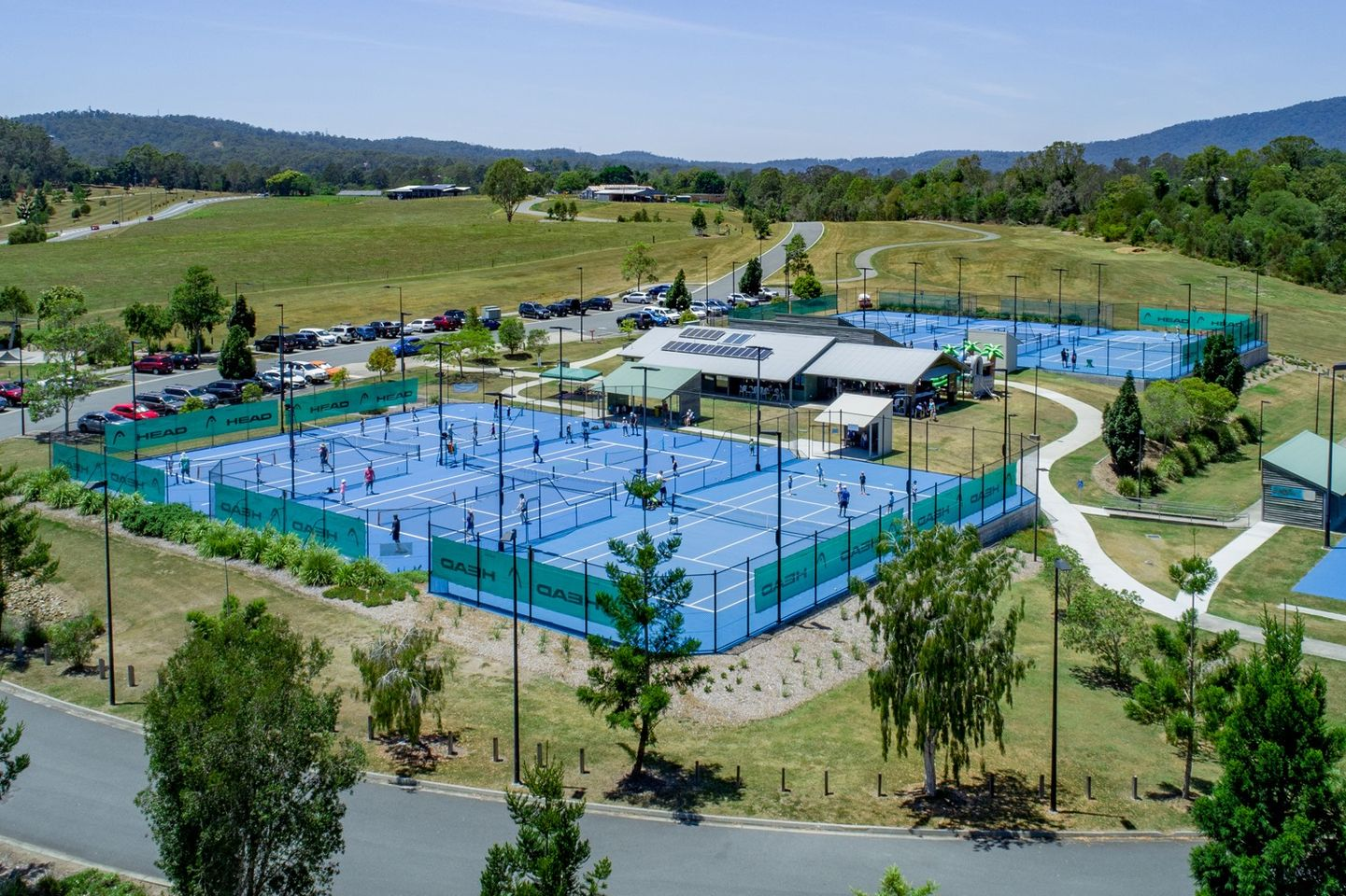 Southern Cross Tennis Samford Parklands outdoor tennis courts