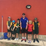 Southern Cross Tennis orange squad