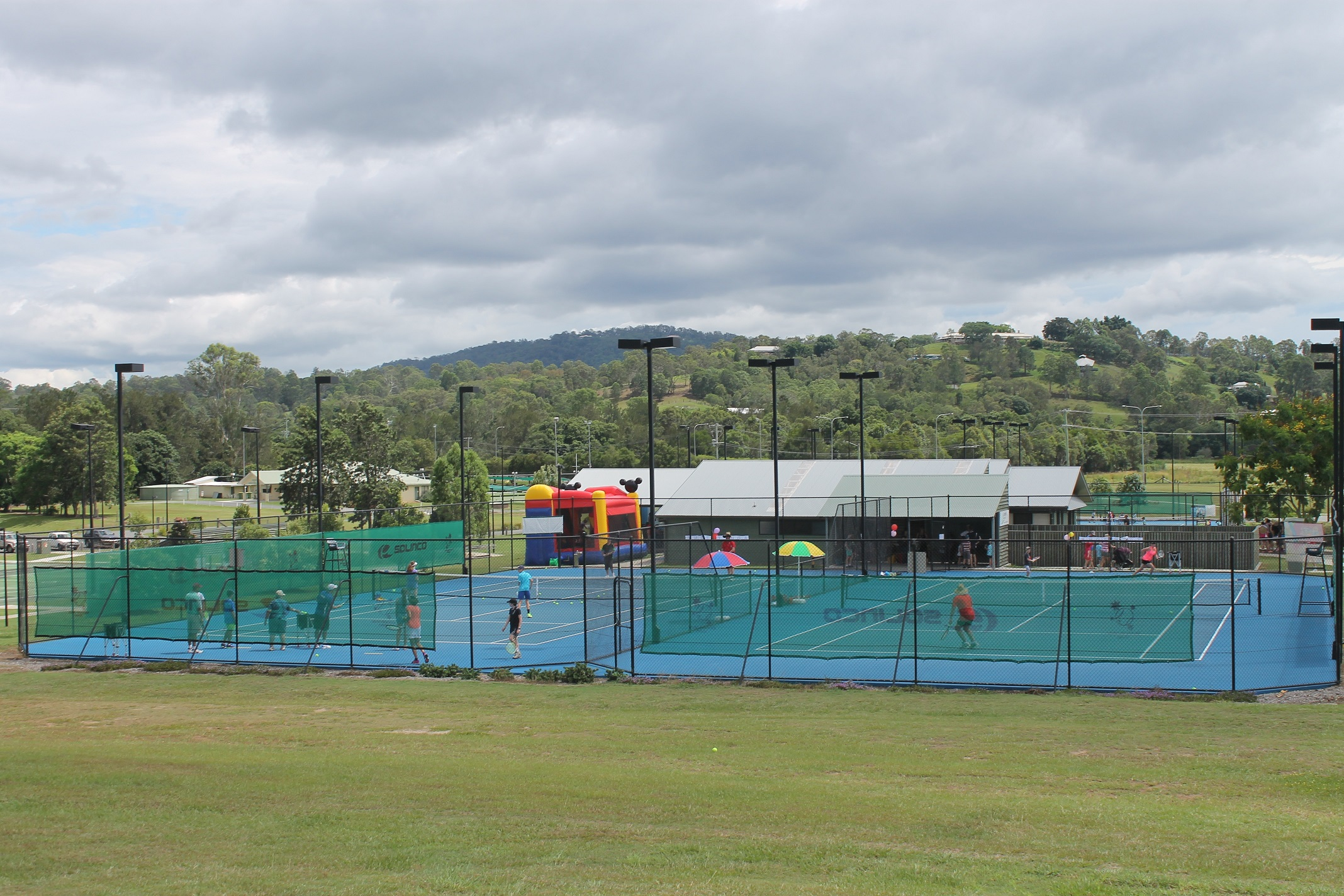 Southern Cross Tennis Samford courts facilities