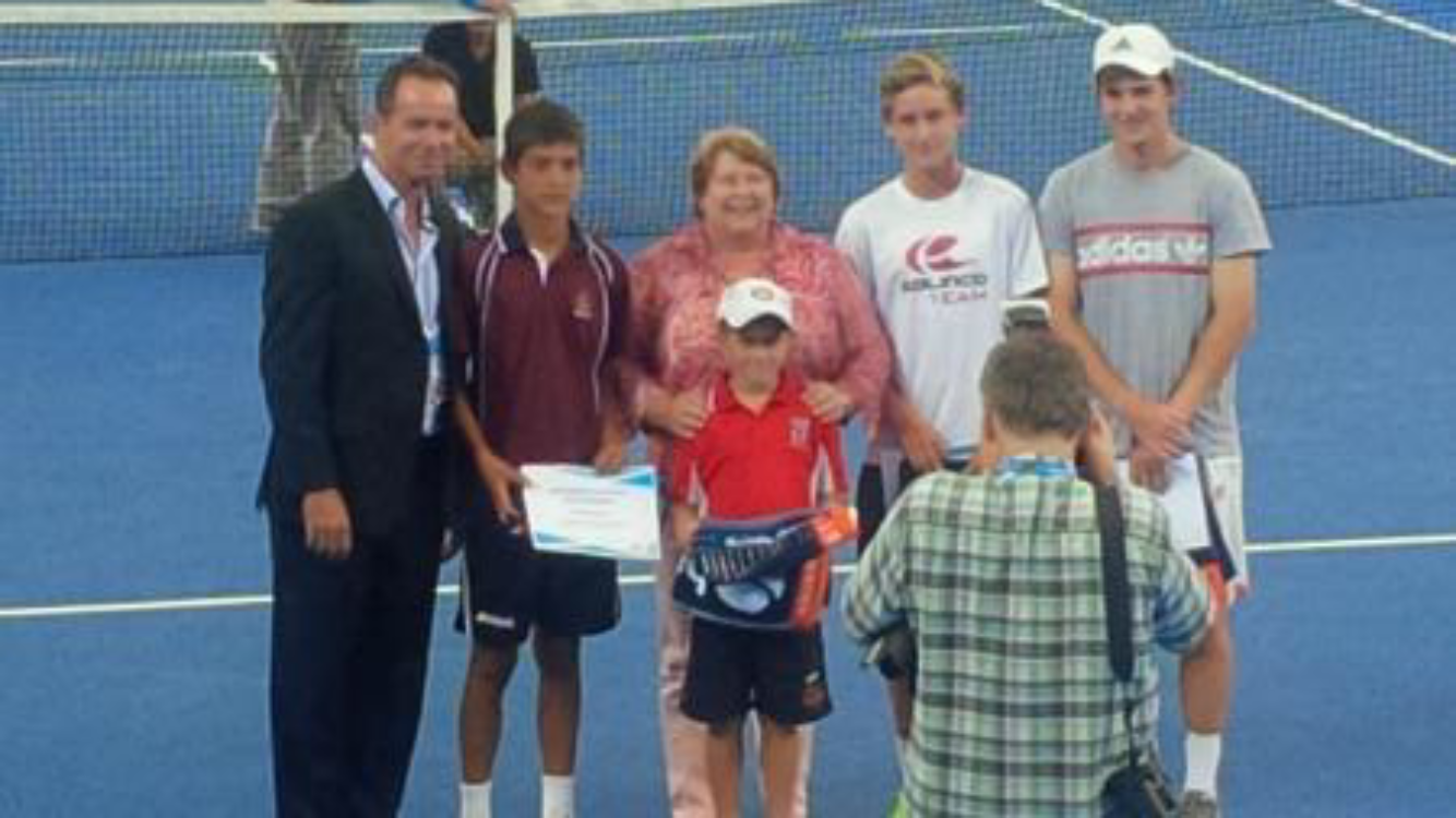 Southern Cross Tennis Josh Barber National Tournament